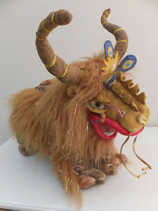 Dralion large plush soft toy (Gund) good condition for Cirque du Soleil