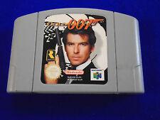 N64 **007 GOLDENEYE James Bond Golden Eye Shooter Game GENUINE Nintendo Cart PAL