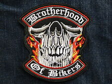 D135 ECUSSON PATCH THERMOCOLLANT BROTHERHOOD OF BIKERS trike country rockabilly