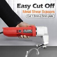 AU 500W 2.5mm Capacity Electric Nibbler Sheet Metal Corded Shear Scissors Cutter