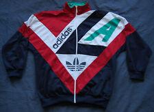 ADIDAS JACKET Vintage Retro TRACKSUIT TOP Oldschool Trainingsjacke Jacke 90s L