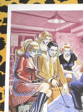 Eric STANTON Fetisch Kult Erotik Postkarte Akt Bdsm Kunst Zeichnung High Heels