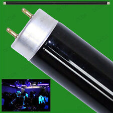 "4x 15W T8 UV Ultraviolet Blacklight 18"" Tube Light DJ Disco Halloween BLB Lamp"