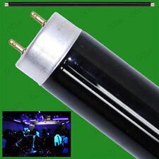 "2x 15W T8 UV Ultraviolet Blacklight 18"" Tube Light DJ Disco Halloween BLB Lamp"
