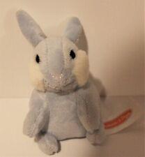 "Melissa & Doug Baby Bunny Hops Plush 4"" Blue Bunny Rabbit"