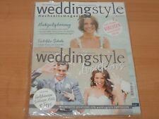 weddingstyle Hochzeitsmagazin + Beilage Ausgabe Nr. 4/2017  NEUWERTIG!