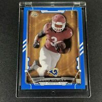 TODD GURLEY 2015 BOWMAN ROOKIE #28 BLUE PARALLEL ROOKIE CARD RC #'D /499