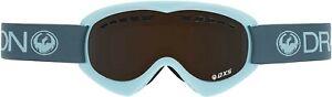 Dragon Alliance DXS Ski Goggles Turquoise 722-5488 DRAGON Pale Smoke Skiing