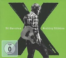 ED SHEERAN / X -WEMBLEY EDITION * NEW CD+DVD * NEU *