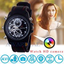 Spy HD Wrist DV Watch 8GB Video 1080*960 Hidden Camera DVR Waterproof Camcorder
