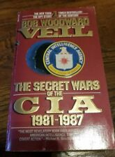 Veil : The Secret Wars of the CIA, 1981-1987 by Bob Woodward (1988, Paperback, R