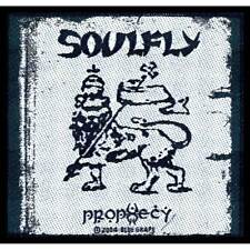 """SOULFLY - """"PROPHECY"""" - WOVEN SEW ON PATCH"""