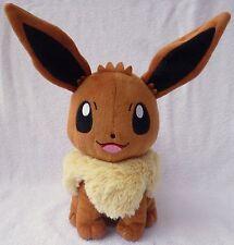 Official Pokemon Tomy Takara Eevee (No Talking Voice Box) Soft Plush Toy Japan