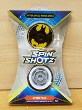 Hot Wheels Spin Shotz Hyper Speed Track Discs Batman Speed Pack