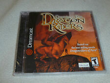 NEW FACTORY SEALED SEGA DREAMCAST GAME CHRONICLES OR PERN DRAGON RIDERS RARE NFS