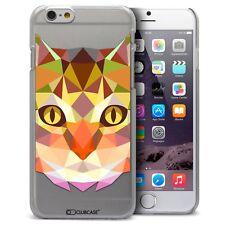 Funda Carcasa para iPhone 6/6S 4.7 Polígono Animal Rígido Fino Gato
