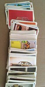Americana Sammelbilder Auto Parade 1971, über 200 verschiedene originale