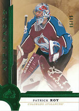 16/17 UPPER DECK ARTIFACTS EMERALD #152 PATRICK ROY 86/99 AVALANCHE *25570