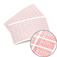 200X 2018-2020 Warranty Void If Damaged Protection Security Label Sticker Seal F