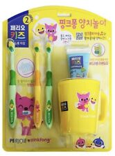 Pinkpong Baby Shark Toothbrush Set With Cup