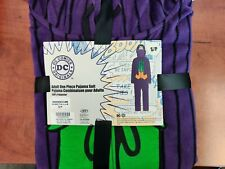 Dc Comics Joker Purple One Piece Pajama Suit Tmur8