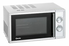 Bartscher 610836 Mikrowelle 900 W mit Drehteller Mikrowellengerät Edelstahl NEU