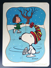 Rare Puzzle Schulz Snoopy Fisher Price 1966 TTBE