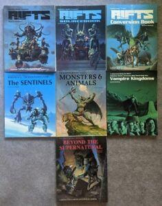 RIFTS Palladium RPG Book Lot Beyond The Supernatural Vampire Kingdoms Monsters