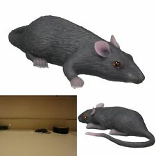 "3.5"" Decor Mouse Rat Home Outdoor Realistic Prank Gag Gift Small Fake Cat Pet"