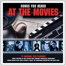 Songs You Heard At The Movies 75 CLASSIC TRACKS Movie Music COLLECTION New 3 CD
