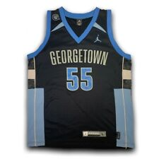 Jordan Georgetown Hoyas Authentic Player Issue Basketball Jersey #55 Size Large