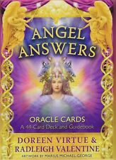 Angel Answers Oracle Cards Doreen Virtue & Radleigh Valentine Japan ver New