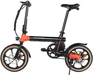 """Macwheel Electric commuter Bike Small Electric Bike 16"""" Wheels, 36V 7.5Ah"""