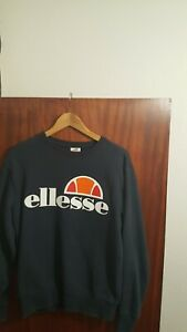 Men's Ellesse Sweatshirt Small Blue