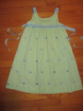 funtasia! too... Embroidered Fish Seersucker Dress Size 5/6