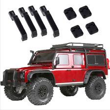 1Set black plastic car door hinges & door handles for 1:10 rc crawler trx4  DS