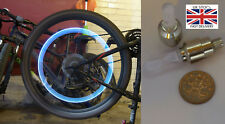 Cars,bikes,bicycles,MTB LED 7 Colour Light Up Tyre Dust caps. -UK STOCK