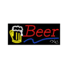 """NEW """"BEER"""" LOGO 27x11 SOLID & ANIMATED LED SIGN w/CUSTOM OPTIONS 20949"""