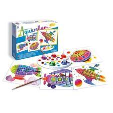 SENTOSPHERE Aquarellum Junior Flugobjekte Malset Malvorlagen Kinder 00678