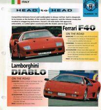 Catalogues automobiles Ferrari