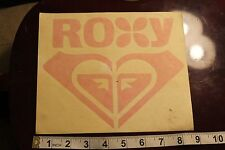 ROXY Girls Aloha Heart Hawaii Quicksilver Vintage Surfing Decal Window STICKER