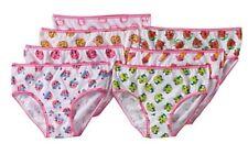 SZ 4  7 Pack Shopkins Girls Briefs Underwear Panties Cotton Lippy Kooky D'Lish