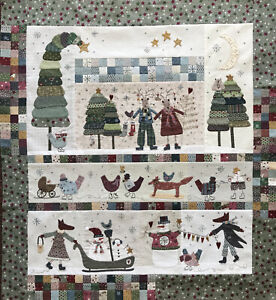 Lynette Anderson Winter Playground Quilt kit -6 patterns