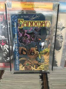 Just Imagine Sandman #1 Not CGC NM Signed By Stan Lee W/COA 2002