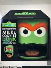 Oscar the grouch cookie mug 12 ounce*