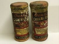 Conkey's Cholera Remedy-Two Containers-Quack Medicine