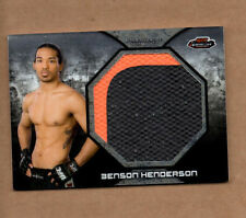 2013 Finest UFC Jumbo Fight Mat Relics #FFMBH Benson Henderson 2 color