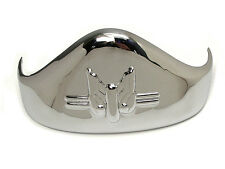 "Chrome Rear Fender Tip Flat Knucklehead 45 61 74"" Rigid SV OHV VL EL FL UL"