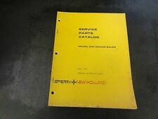 New Holland Model 852 Round Baler Service Parts Catalog Manual    1-81