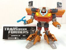 Transformers Generations Universe Classics WHEELIE Asia Exclusive Deluxe Figure